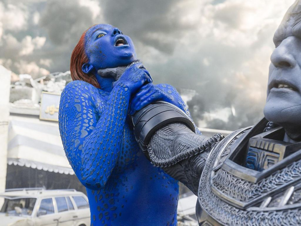 Jennifer Lawrence und Oscar Isaac