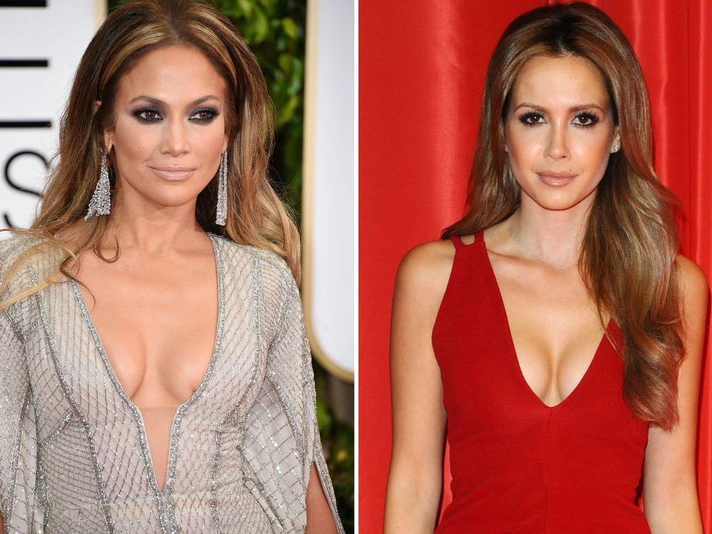 Jennifer Lopez und Mandy Capristo