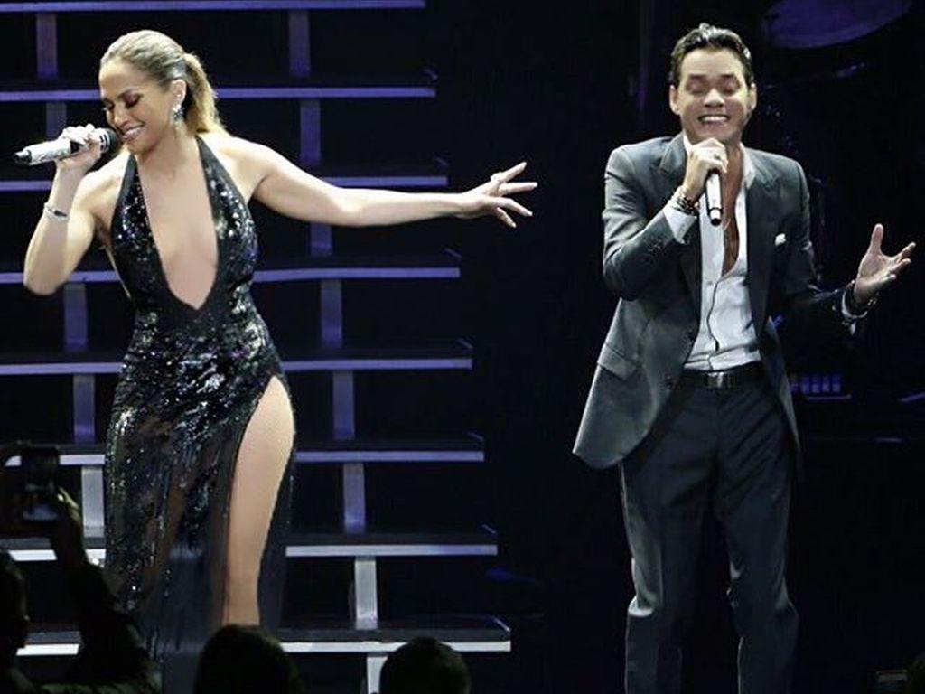 Jennifer Lopez und Marc Anthony bei den VMAs 2016 in New York