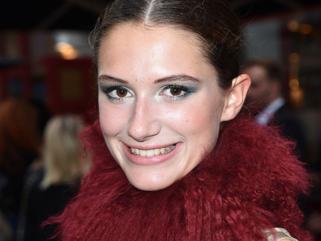 Jenny Jessen bei einem Boutique-Opening in München