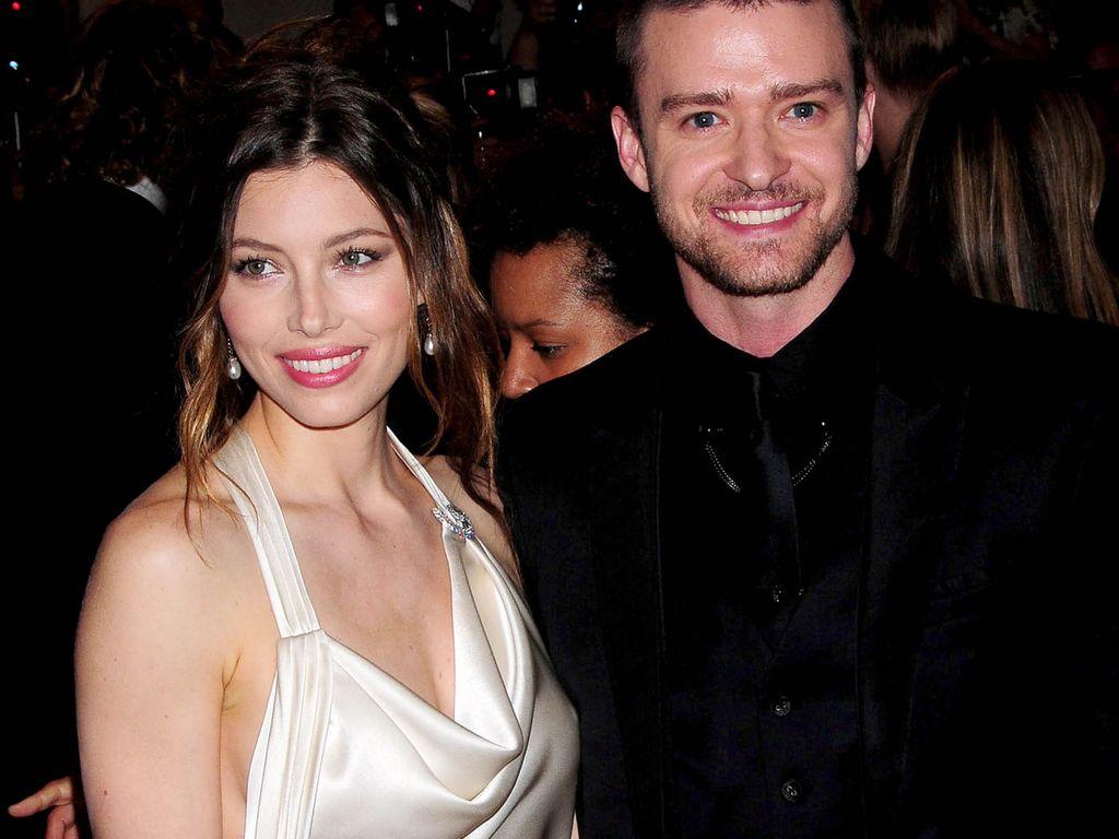 Jessica Alba und Justin Timberlake