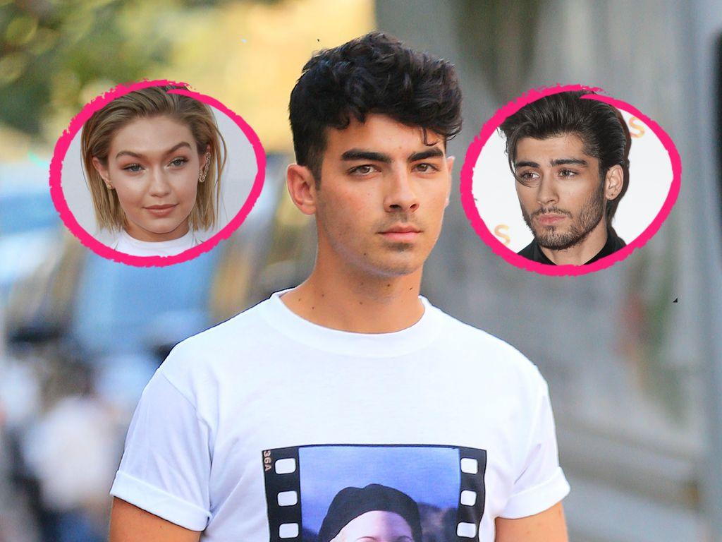 Gigi Hadid, Zayn Malik und Joe Jonas