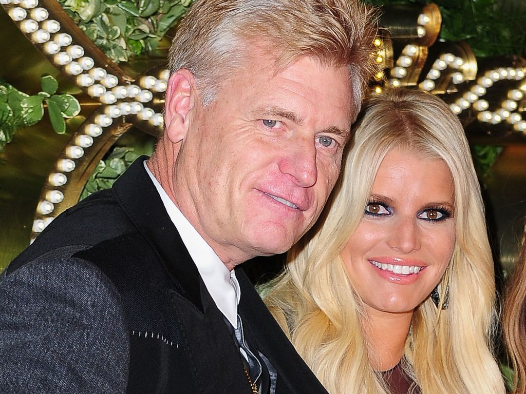 Joe Simpson und Jessica Simpson in New York City
