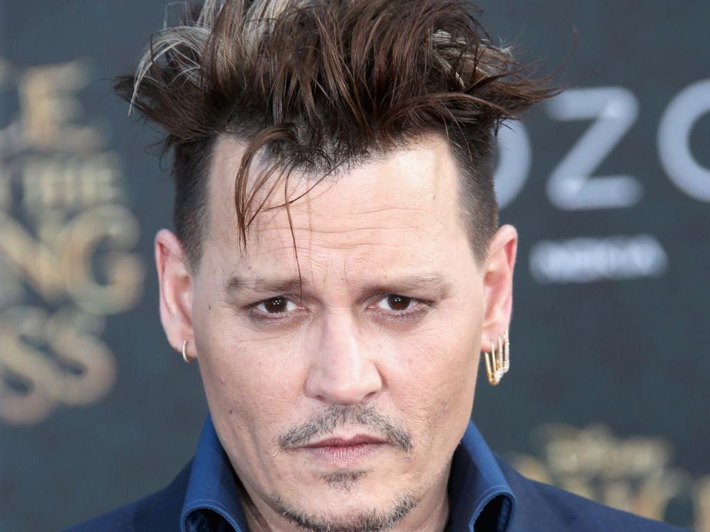 "Johnny Depp bei der ""Alice im Wunderland""-Premiere 2016 in Los Angeles"