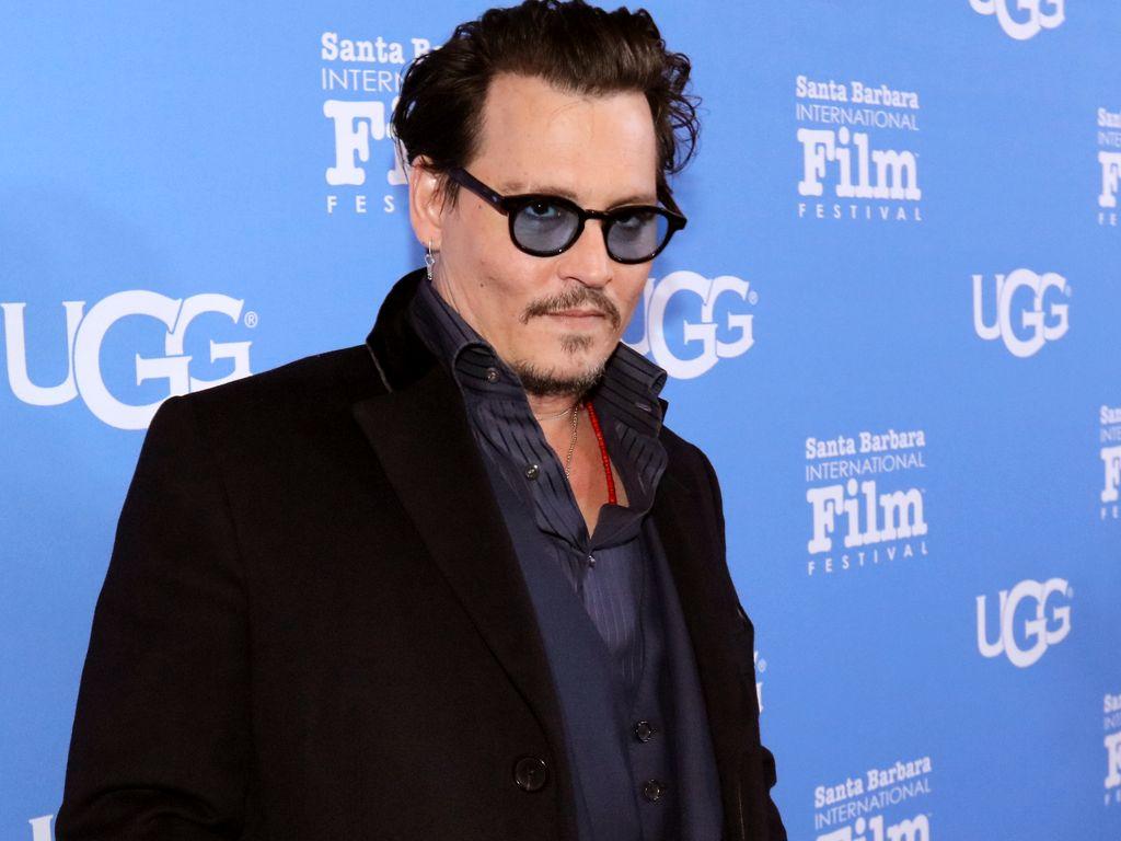 Johnny Depp beim Santa Barbara International Film Festival
