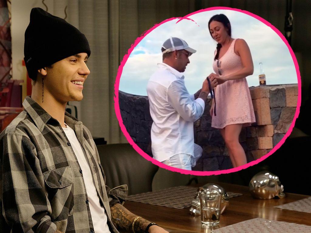 Justin Bieber und Jeremy Bieber