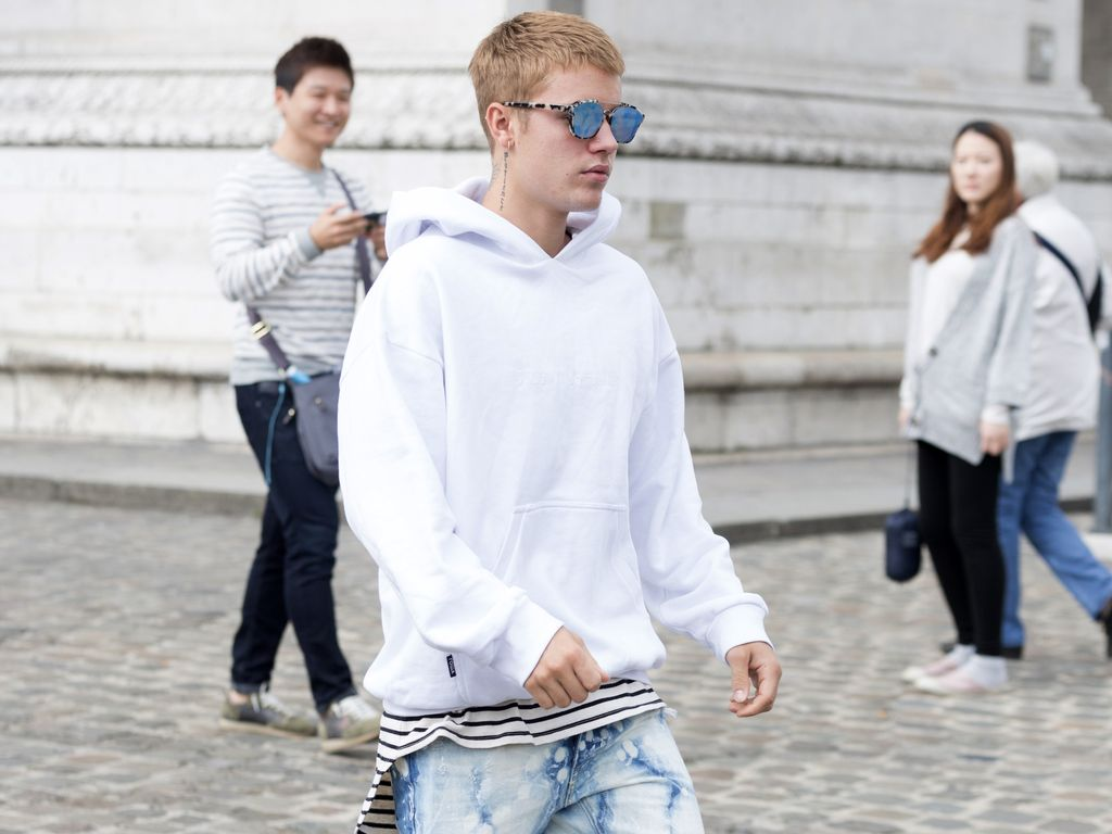 Justin Bieber in Paris