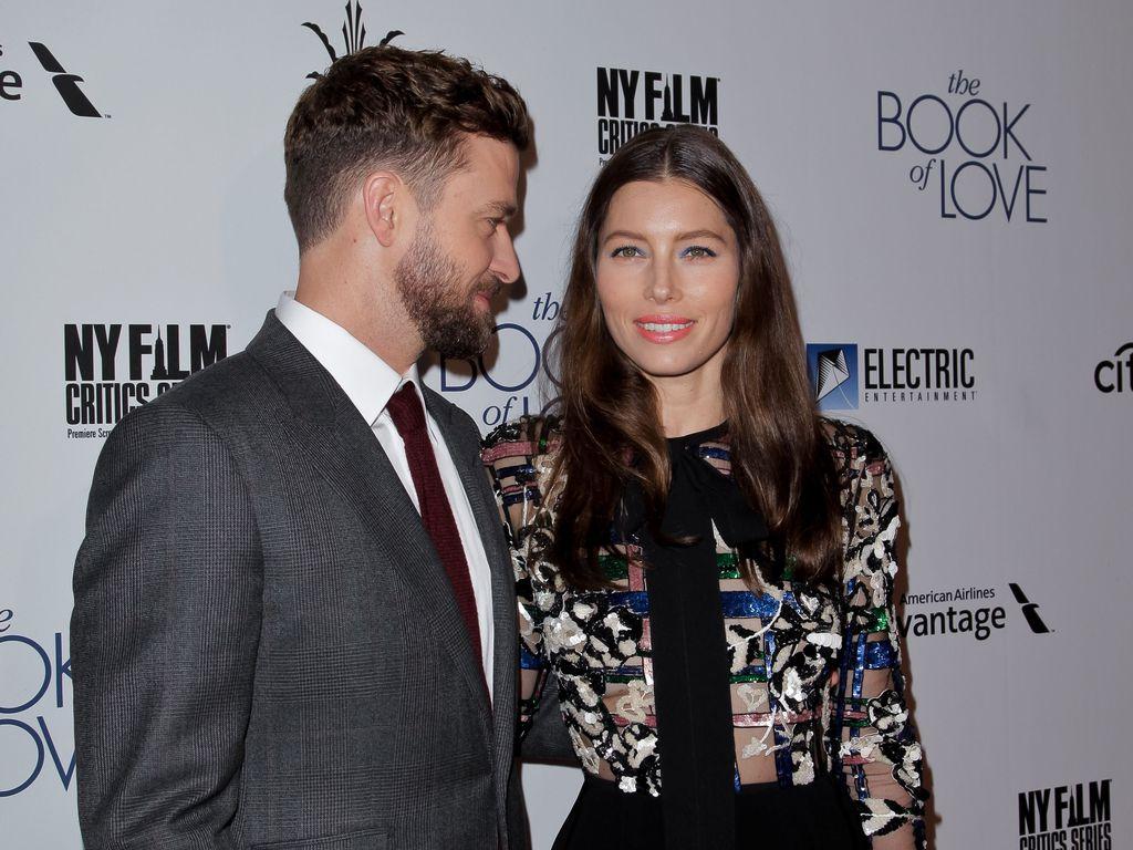 """Justin Timberlake & Jessica Biel auf der Premiere von """"The Book of Love"""" in Los Angeles"""