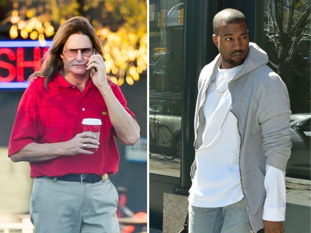 Kanye West und Bruce Jenner