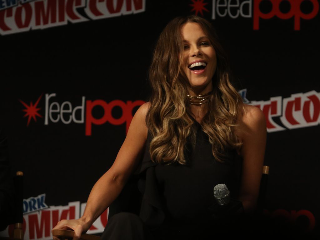 Kate Beckinsale im Oktober 2016 auf der Comic Con in New York.
