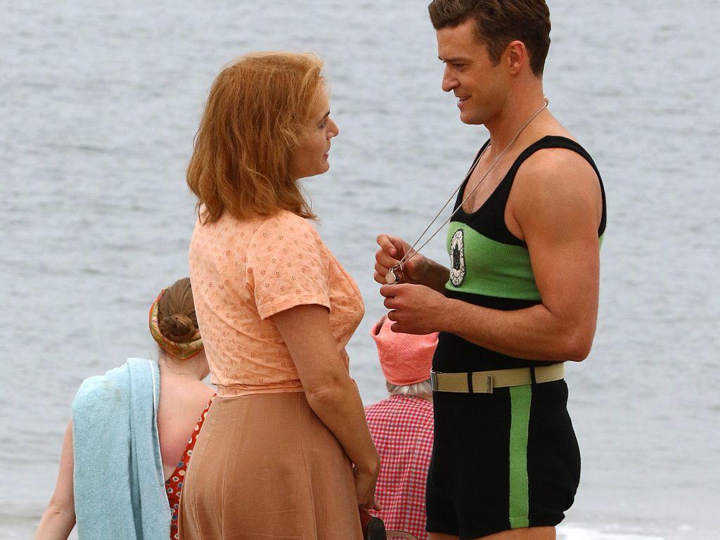 Kate Winslet und Justin Timberlake bei Dreharbeiten in New York