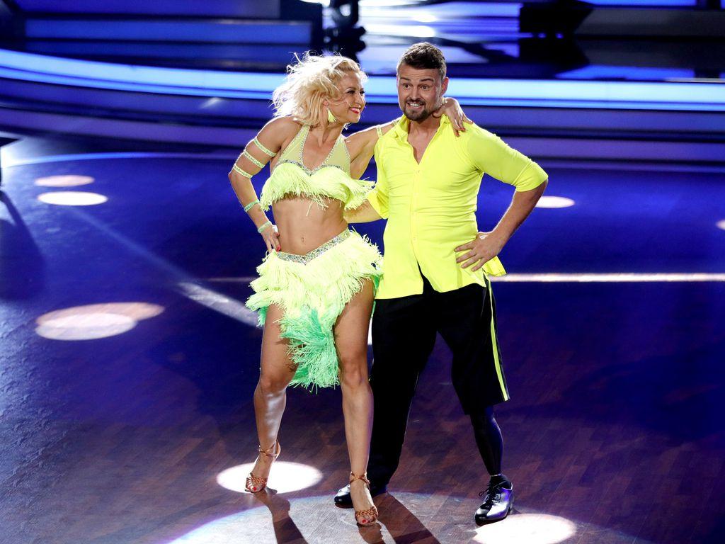 Kathrin Menzinger und Heinrich Popow bei der zehnten Let's Dance-Staffel