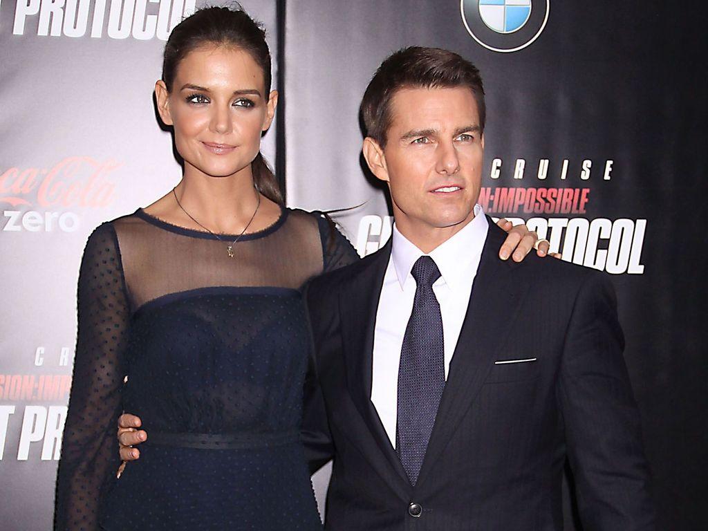 Tom Cruise und Katie Holmes