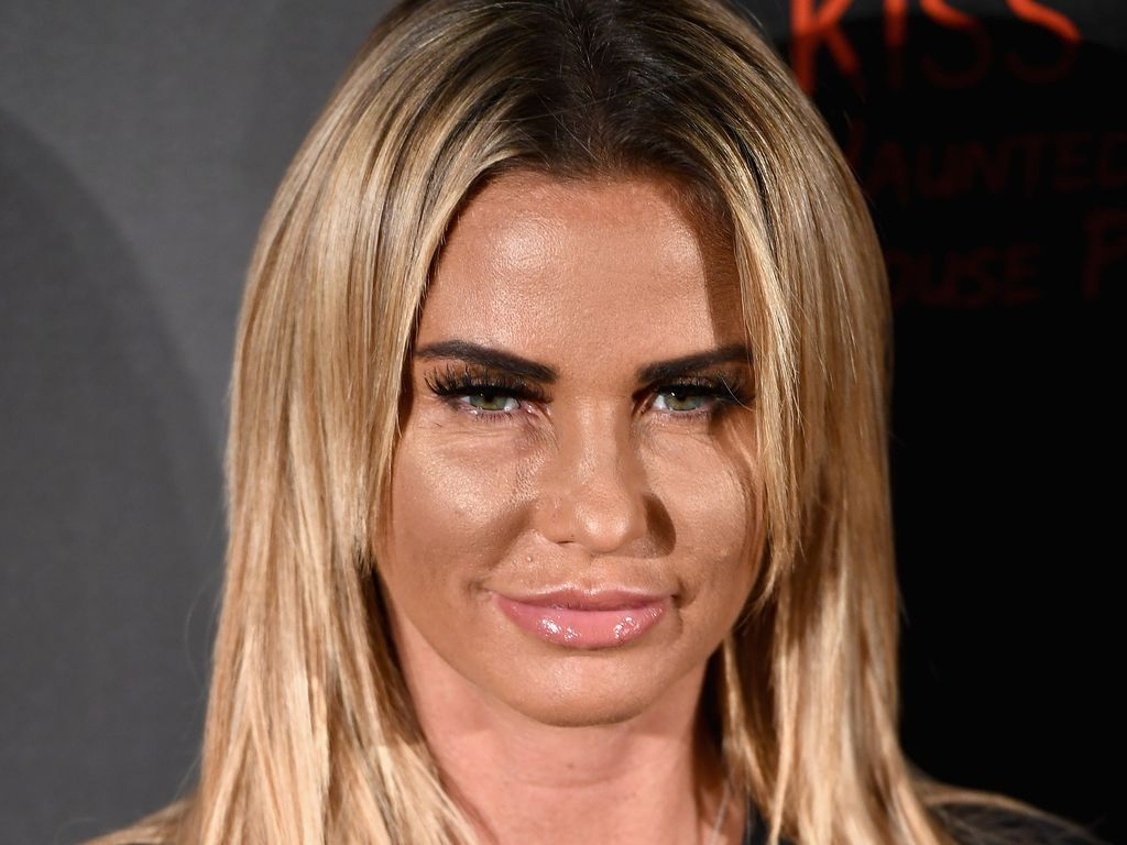 "Katie Price bei der ""Kiss FM Haunted House Party"" in London"
