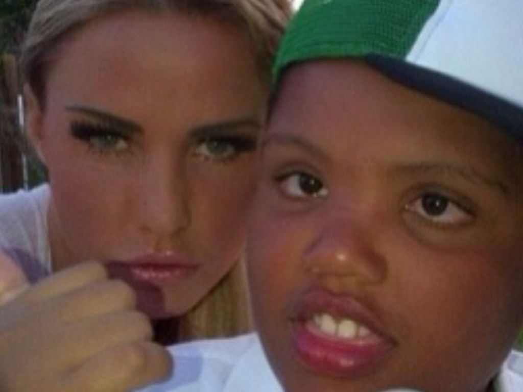 Katie Price und Harvey Price