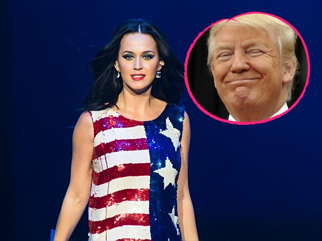 Katy Perry und Donald Trump