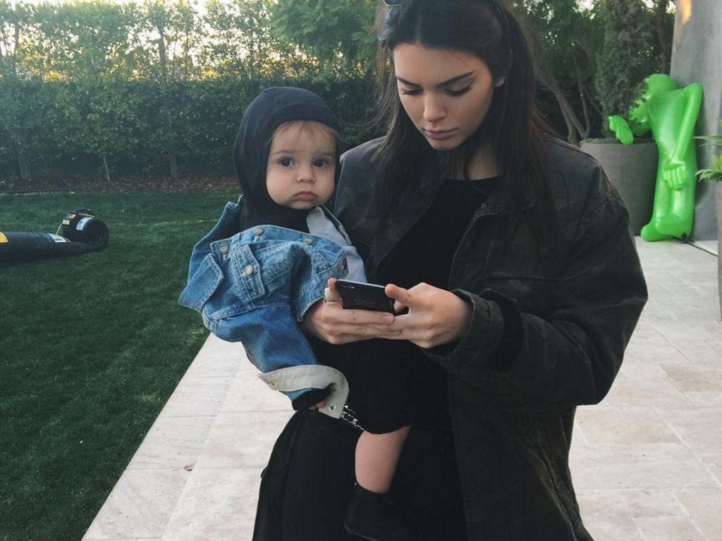 Kendall Jenner und Reign Disick