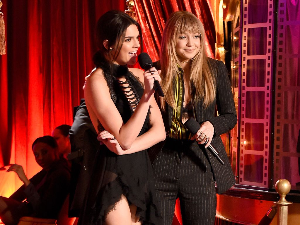 Kendall Jenner und Gigi Hadid bei den MTV Movie Awards 2016