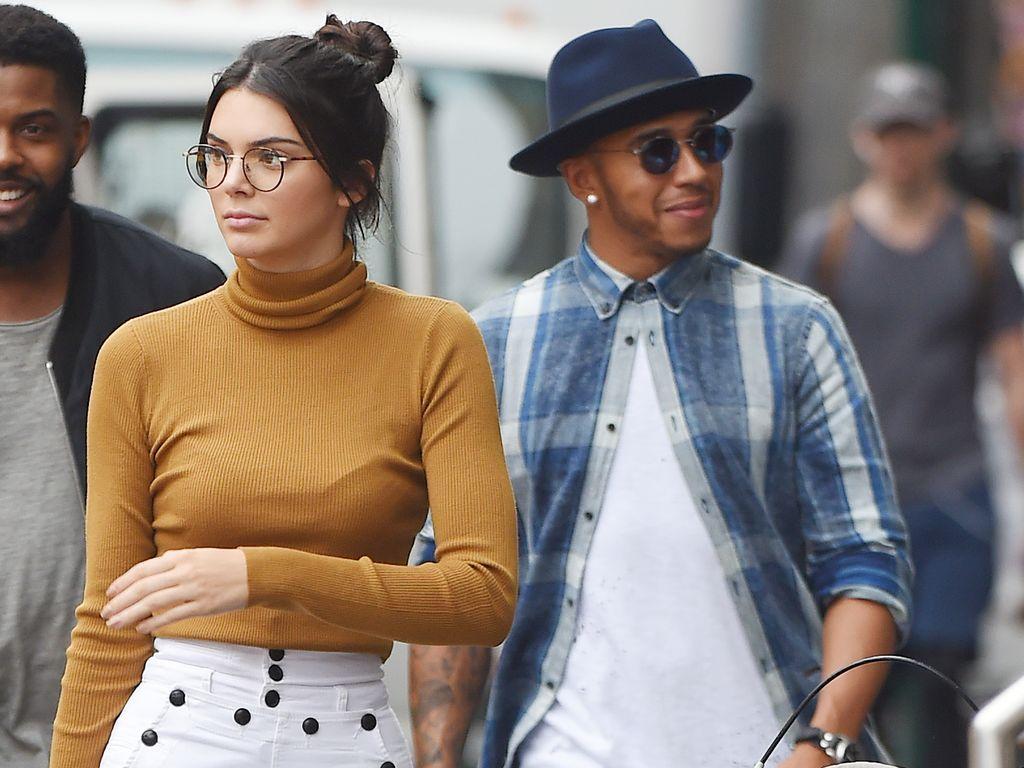 Kendall Jenner und Lewis Hamilton