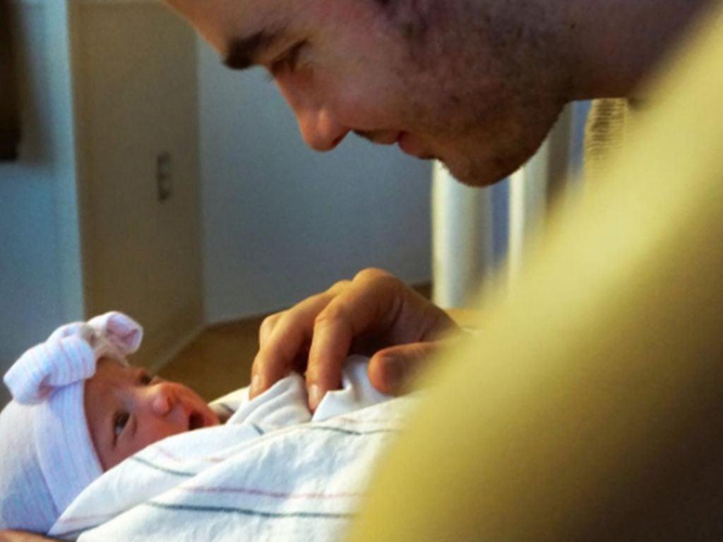 Kevin Jonas mit seiner Tochter Valentina