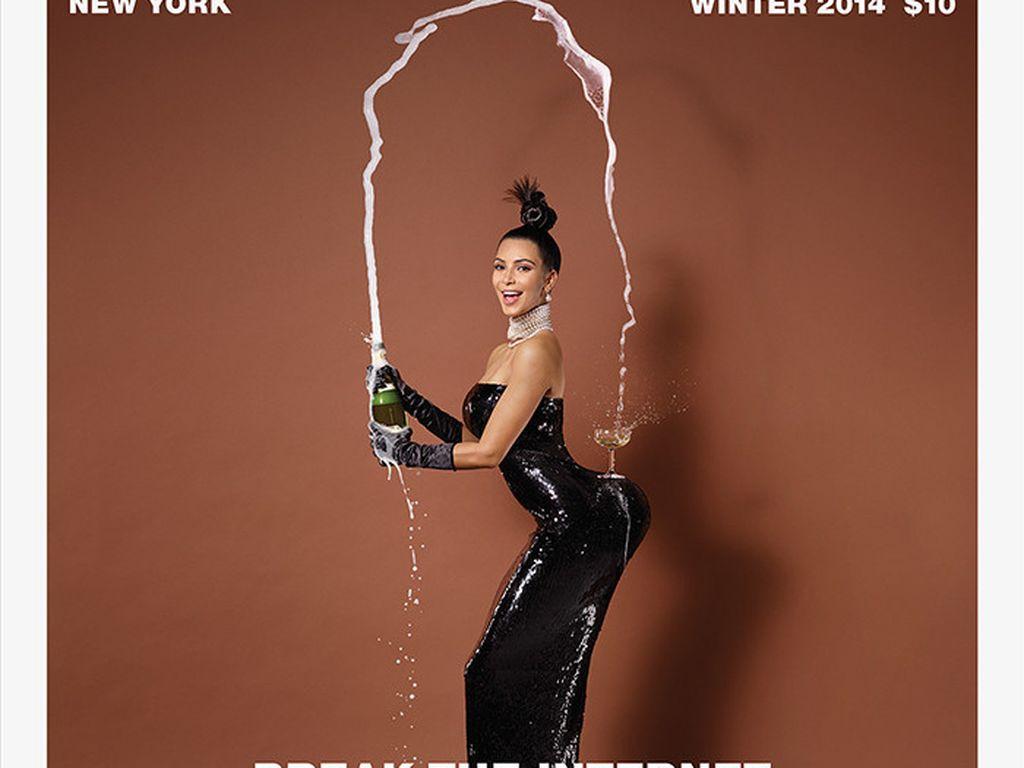 "Kim Kardashian im ""Paper""-Magazine 2014"