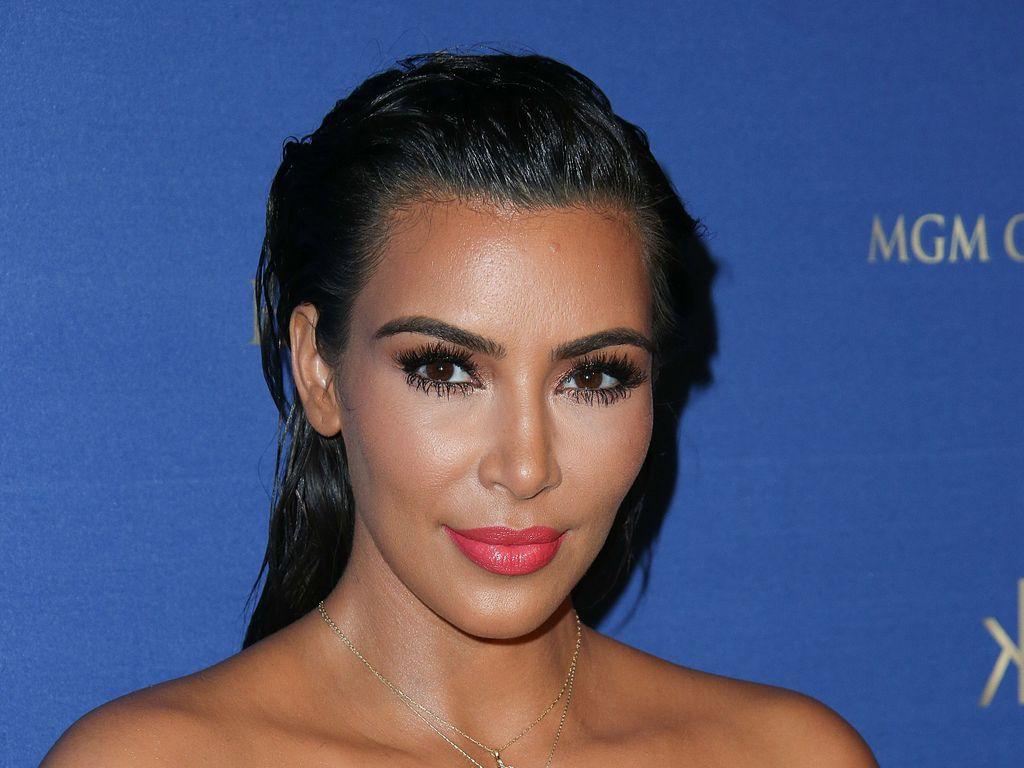 Kim Kardashian bei einer Party in Las Vegas