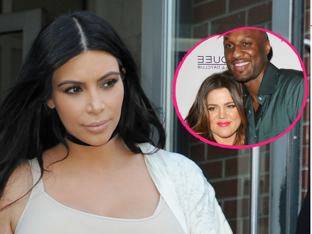 Khloe Kardashian, Kim Kardashian und Lamar Odom