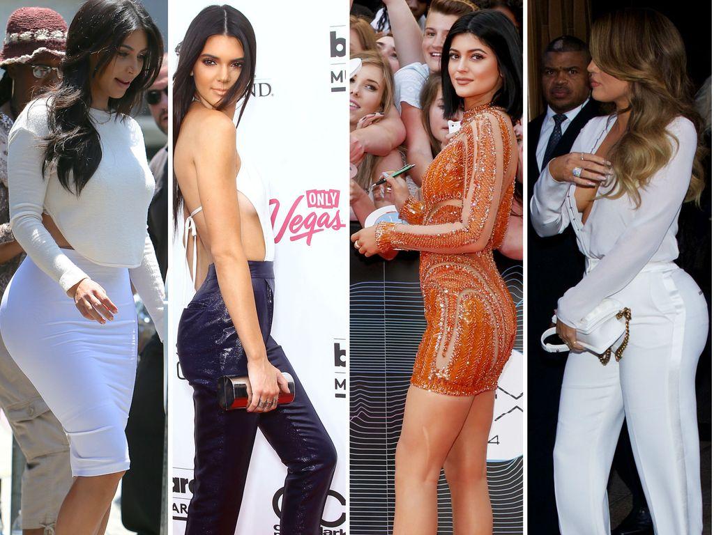Khloe Kardashian, Kylie Jenner, Kim Kardashian und Kendall Jenner
