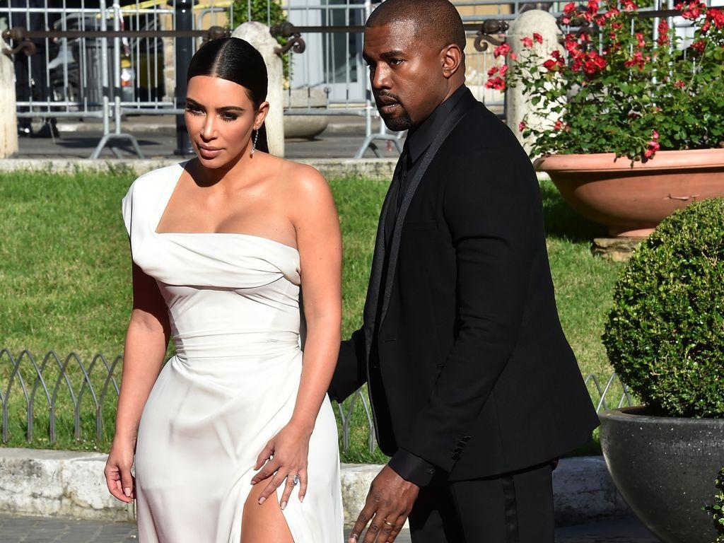 """Kim Kardashian und Kanye West bei der """"La Traviata""""-Eröffnungsfeier in Rom"""