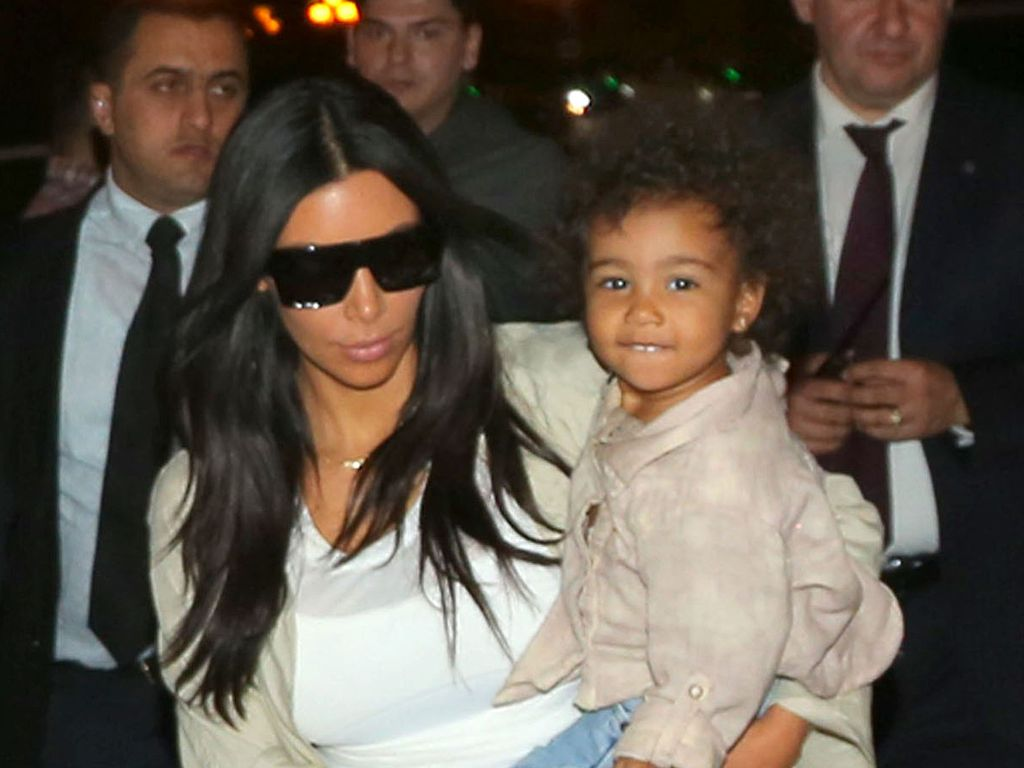 Kim Kardashian und North West