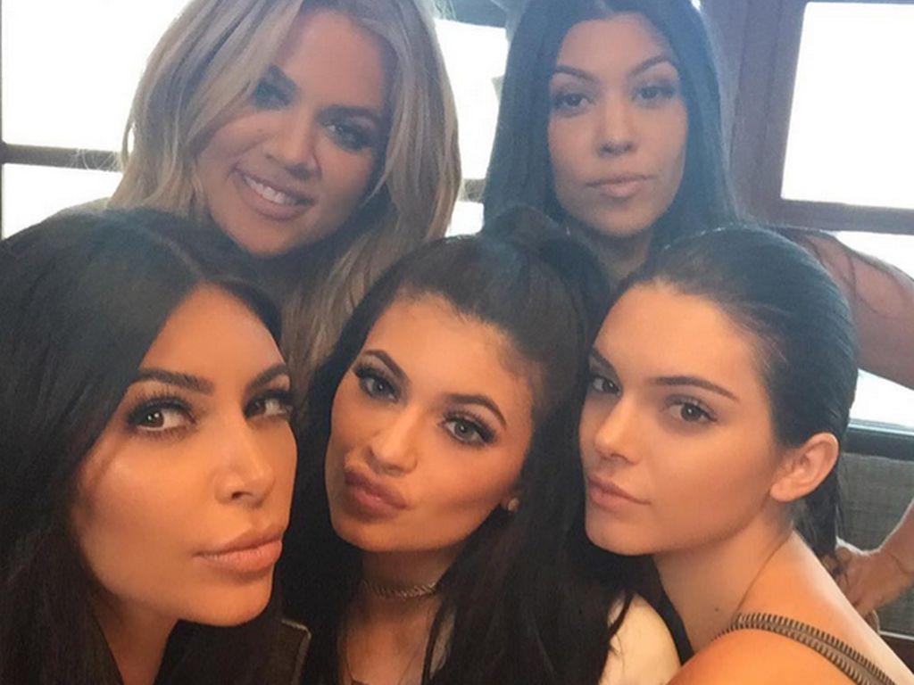 Khloe Kardashian, Kourtney Kardashian, Kim Kardashian, Kylie Jenner und Kendall Jenner