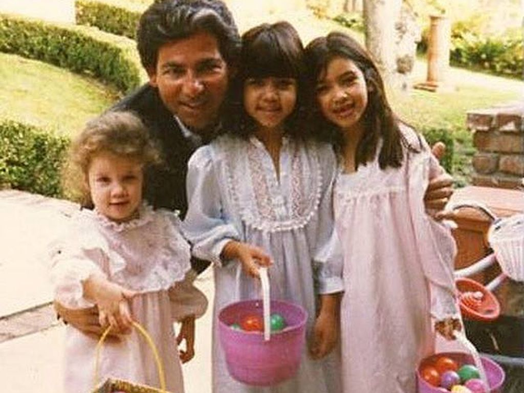 Khloe Kardashian, Kim Kardashian, Kourtney Kardashian und Robert Kardashian Sr.