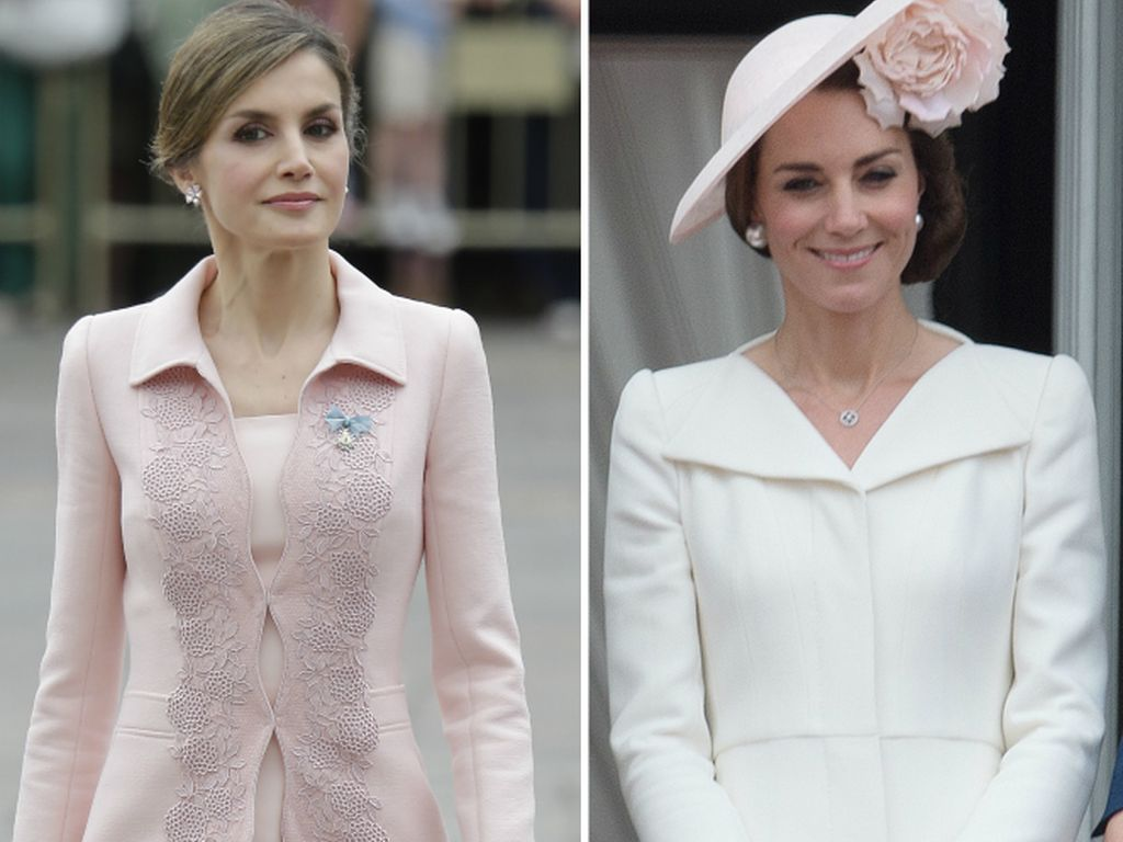 Königin Letizia von Spanien und Herzogin Kate