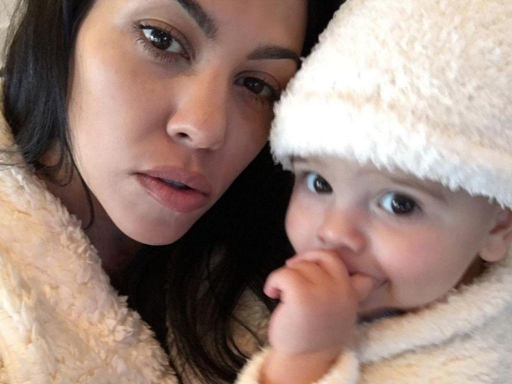 Kourtney Kardashian und Reign Disick