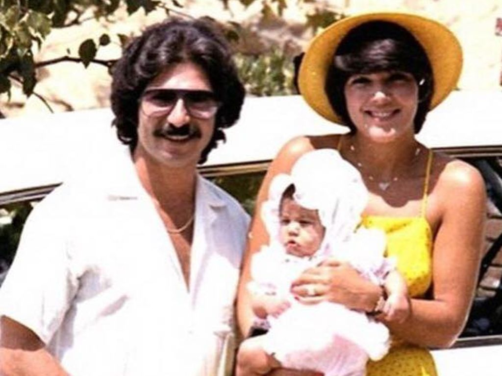 Kris Jenner, Robert Kardashian und Baby Kourtney Kardashian