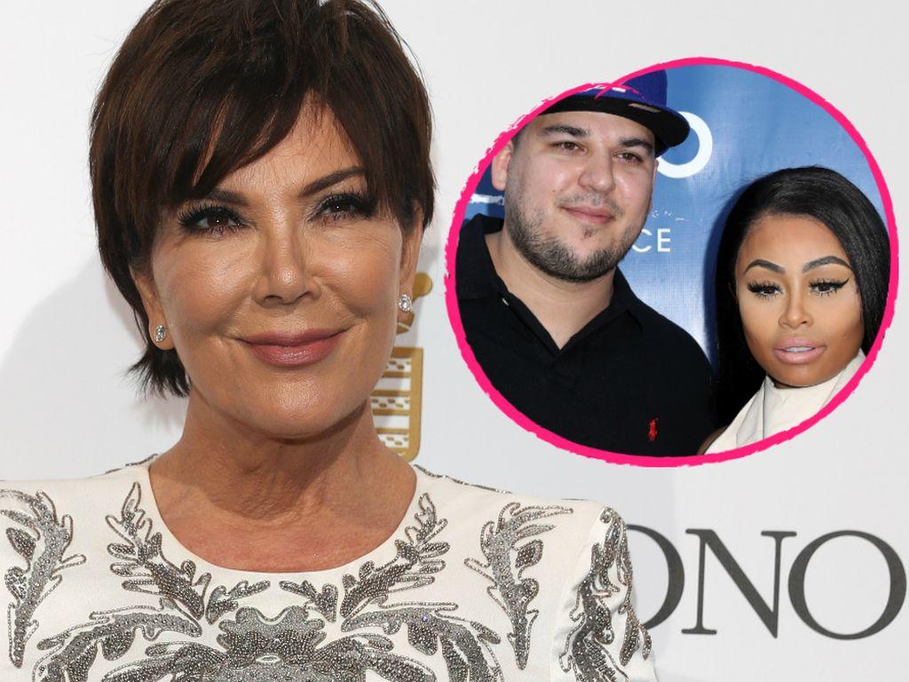 Kris Jenner, Robert Kardashian und Blac Chyna