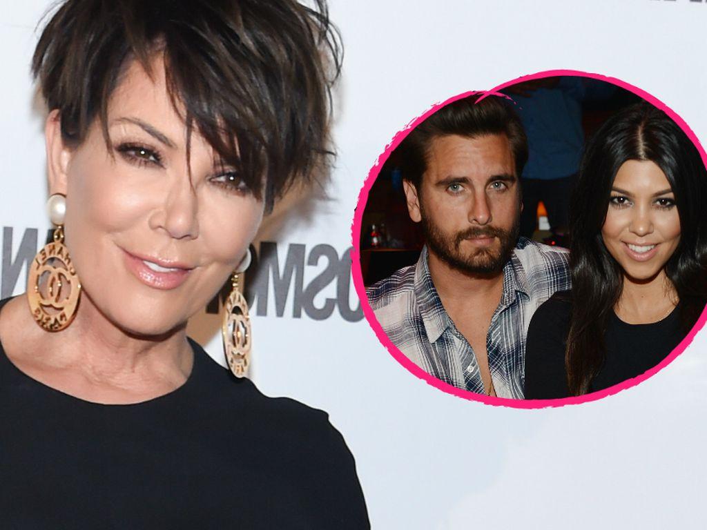 Kourtney Kardashian, Kris Jenner und Scott Disick
