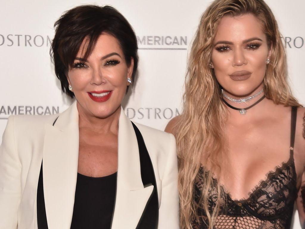 Kris Jenner und Khloé Kardashian in Los Angeles