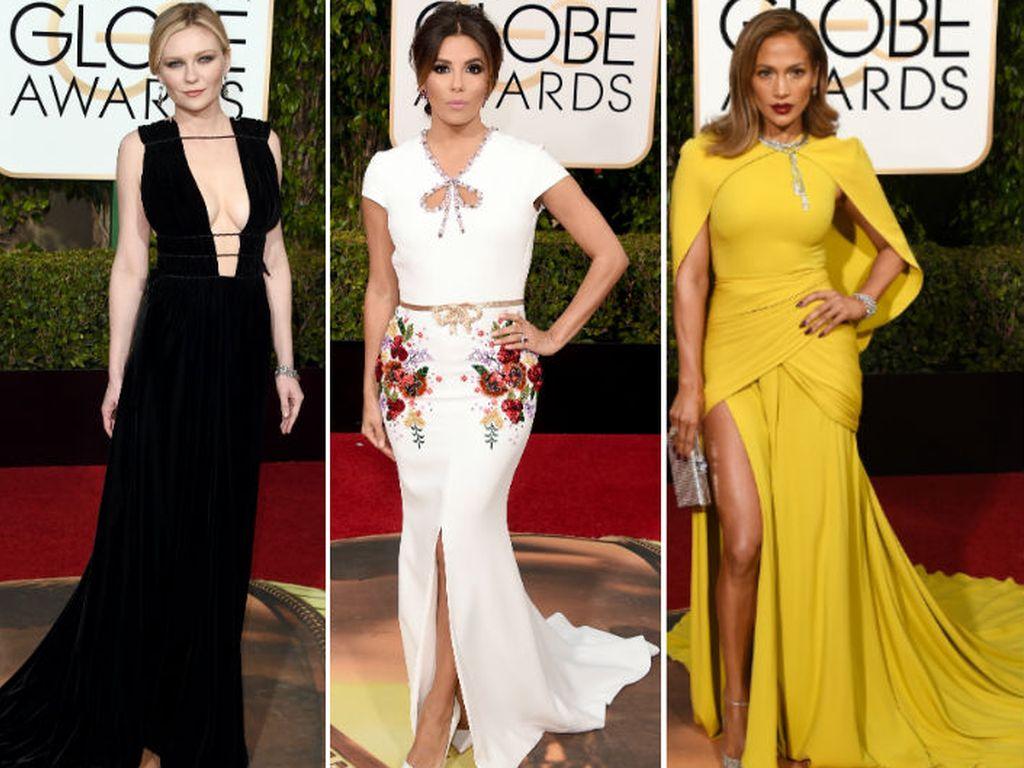 Eva Longoria, Jennifer Lopez und Kirsten Dunst
