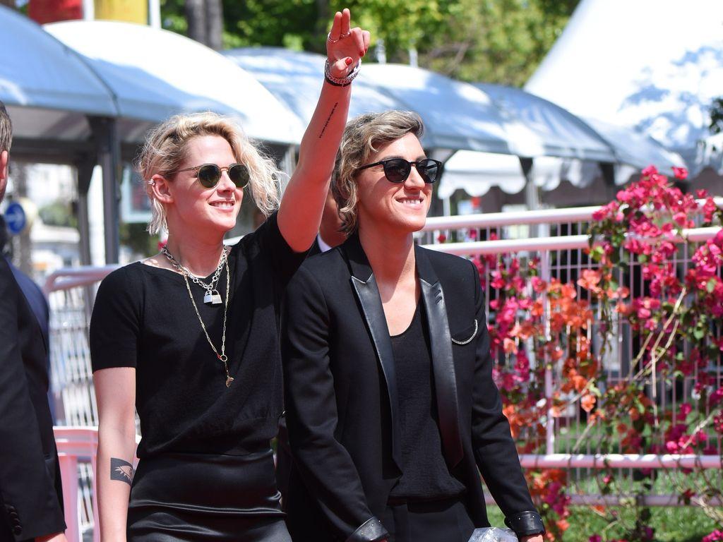 Kristen Stewart und Alicia Cargile bei den Filmfestspielen in Cannes 2016