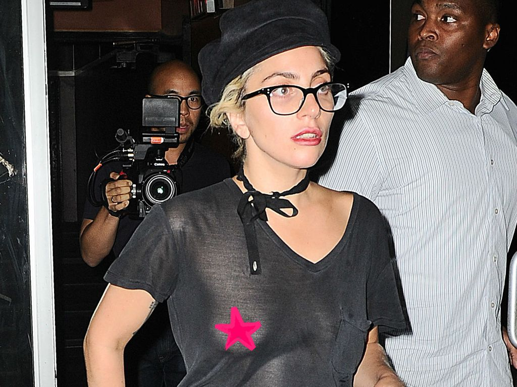 Lady Gaga vor ihrem Tonstudio in New York 2016