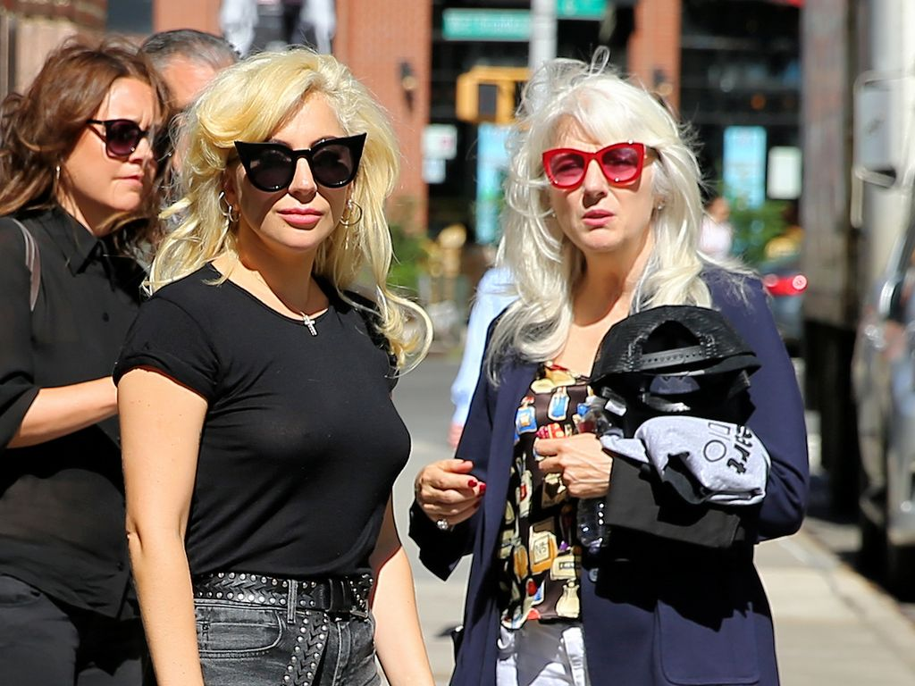 Lady GaGa mit ihrer Mutter Cynthia in New York
