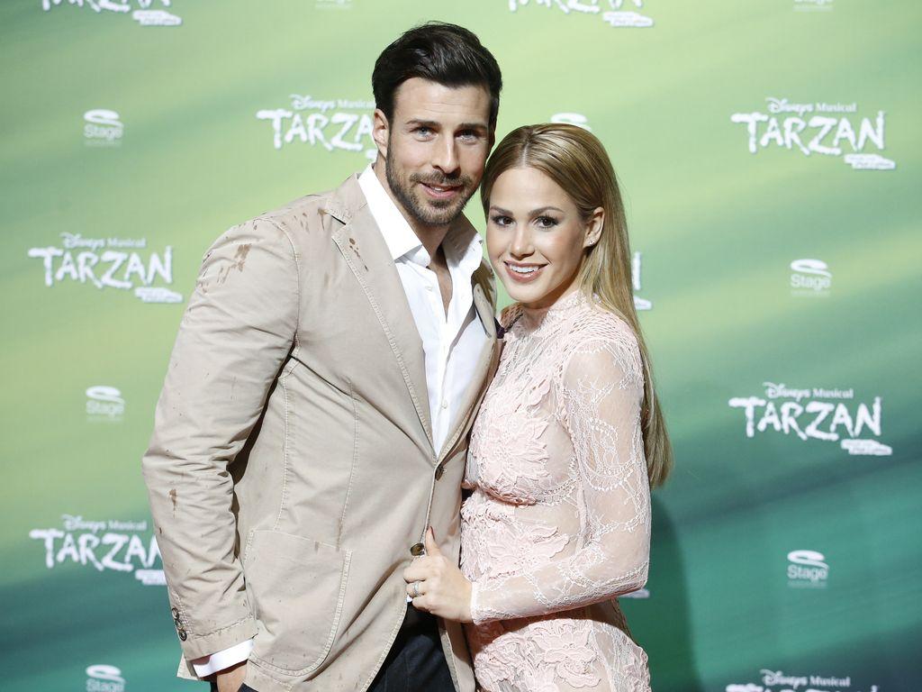 """Leonard Freier und Angelina Heger auf der Premiere des Disney-Musicals """"Tarzan"""""""