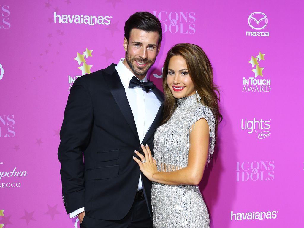 Leonard Freier und Angelina Heger bei den InTouch Awards 2016