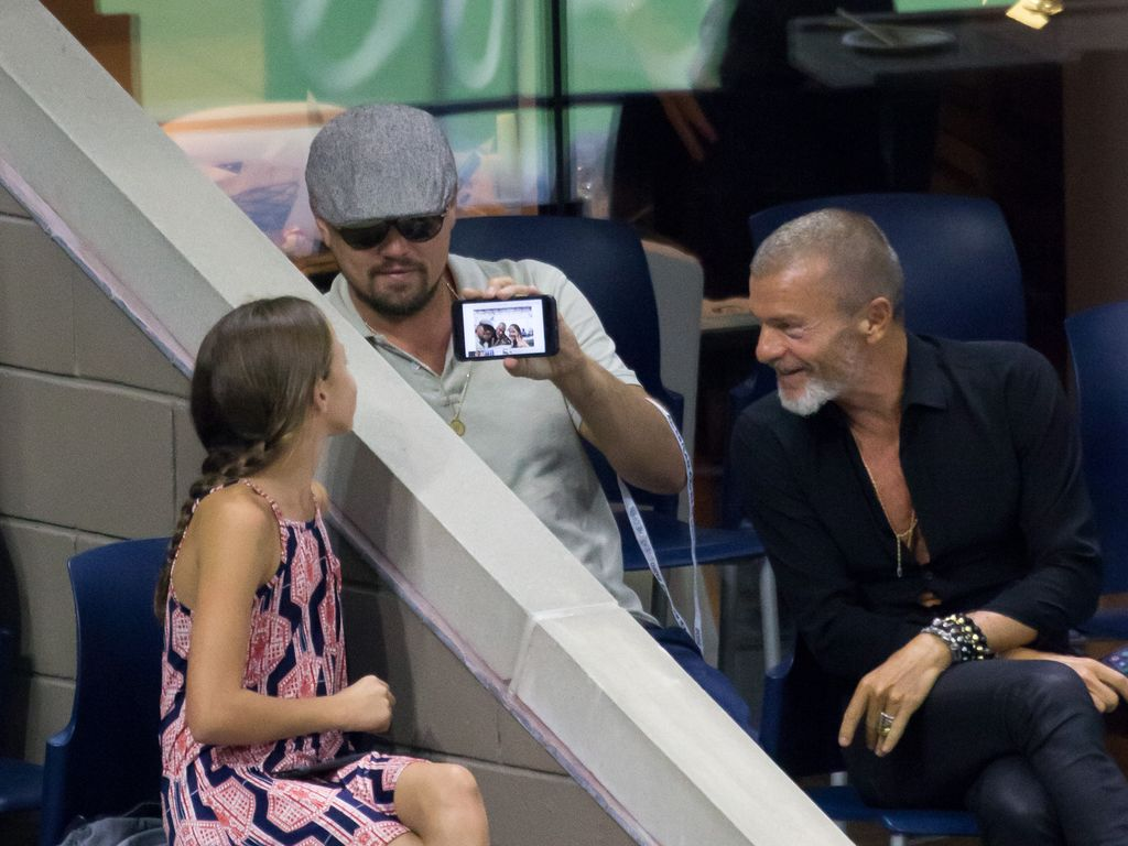 Leonardo DiCaprio bei den US Open in New York