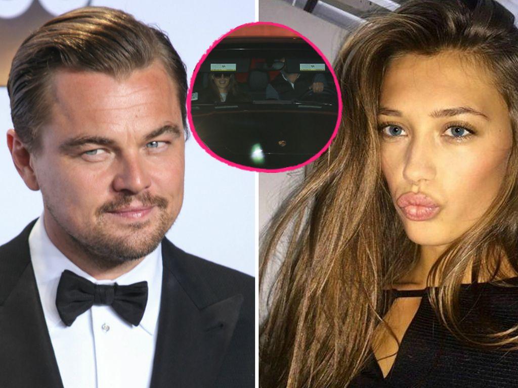 Leonardo DiCaprio und Chelsey Weimar