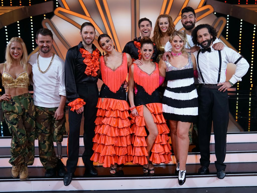 """Let's Dance""-Kandidaten 2017"