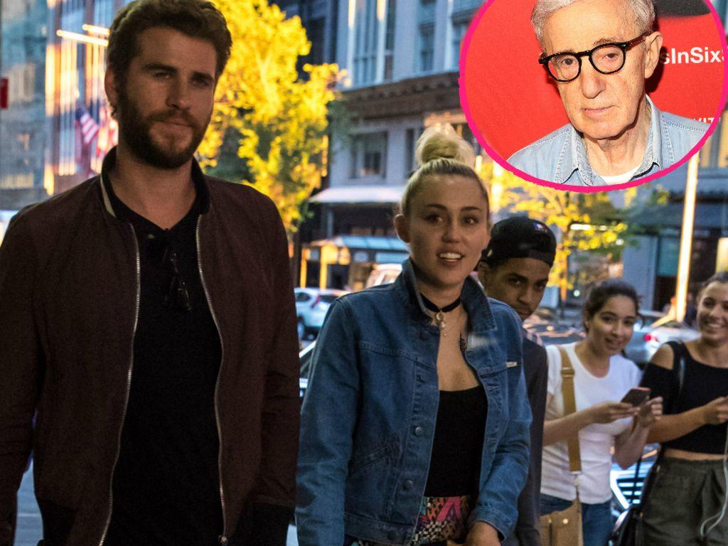 Liam Hemsworth, Miley Cyrus und Woody Allen