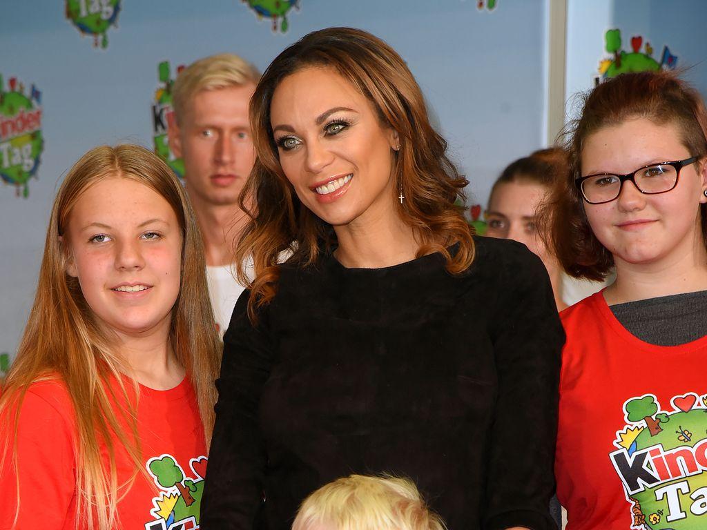 Lilly und Amadeus Becker im September 2016 beim Kinder-Tag in Noervenich