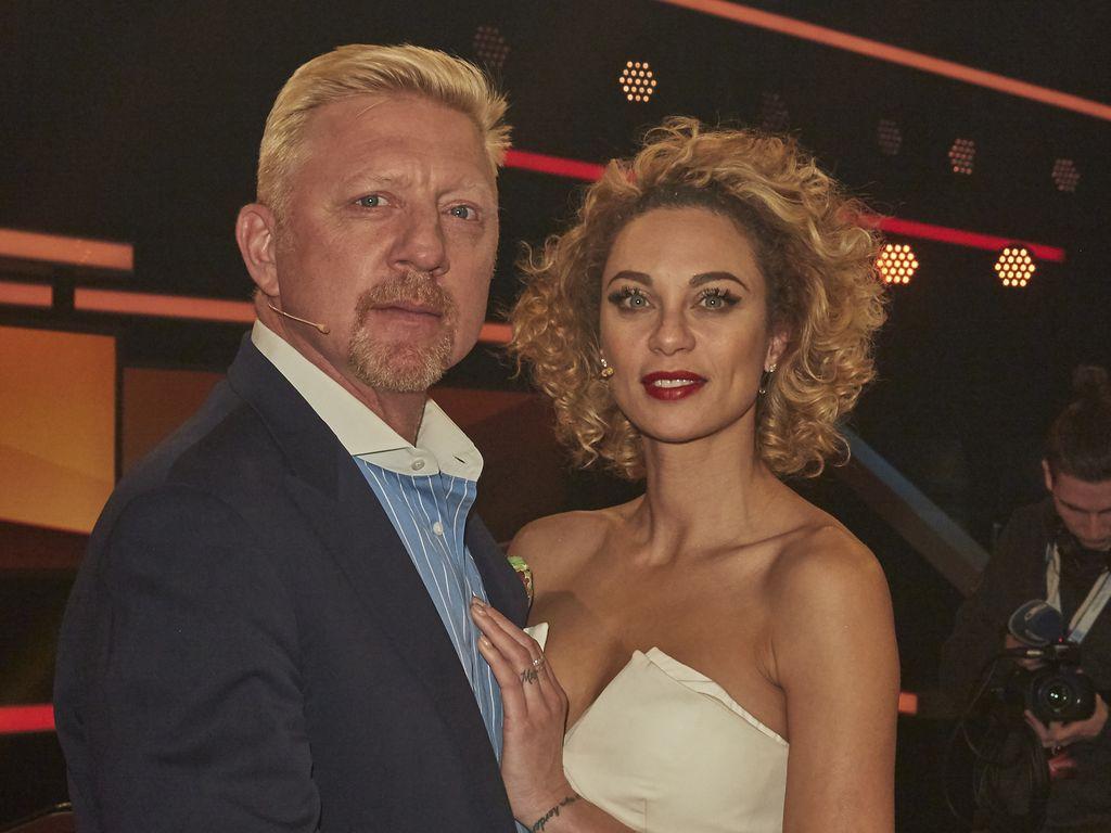 Boris Becker mit Ehefrau Lilly Becker
